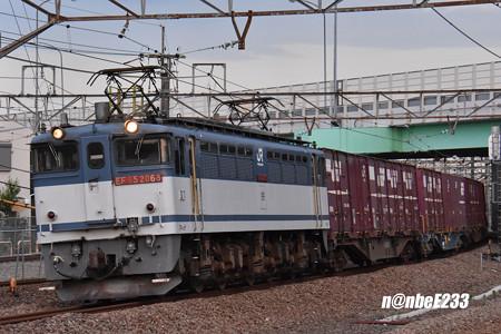 79レ EF652068+コキ