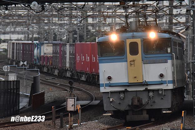 79レ EF65 2127+コキ