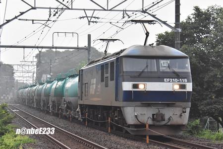 8461レ EF210-118+タキ