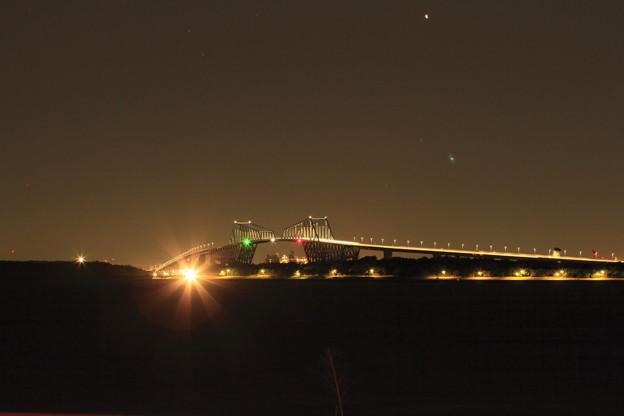 ゲートブリッジ夜景
