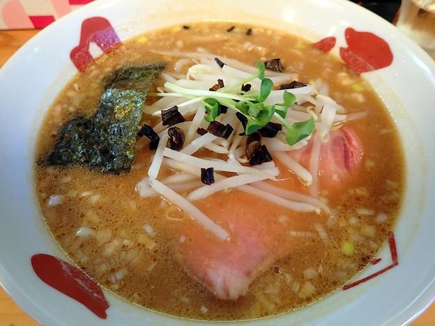 味噌そば・太麺@やまき・二本松市
