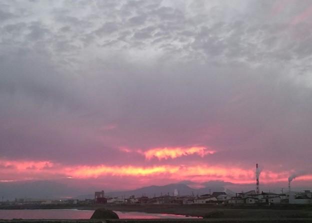 8月24日(水)の夕焼け