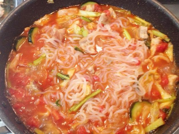 Photos: 糸こんにゃくのスパゲティトマトソース