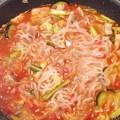 糸こんにゃくのスパゲティトマトソース