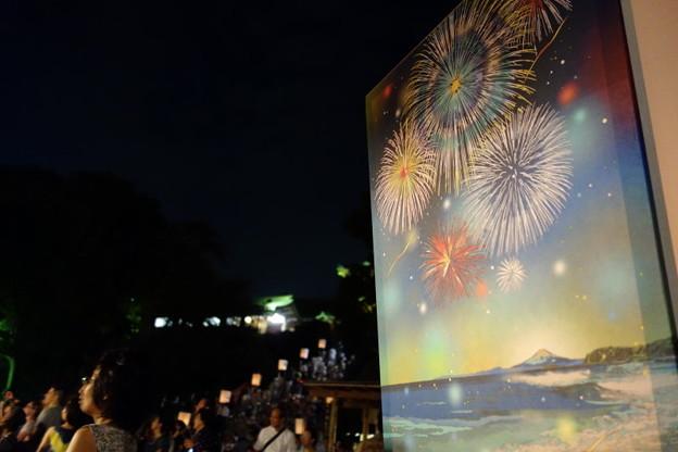 雪洞の花火とまつり20140807