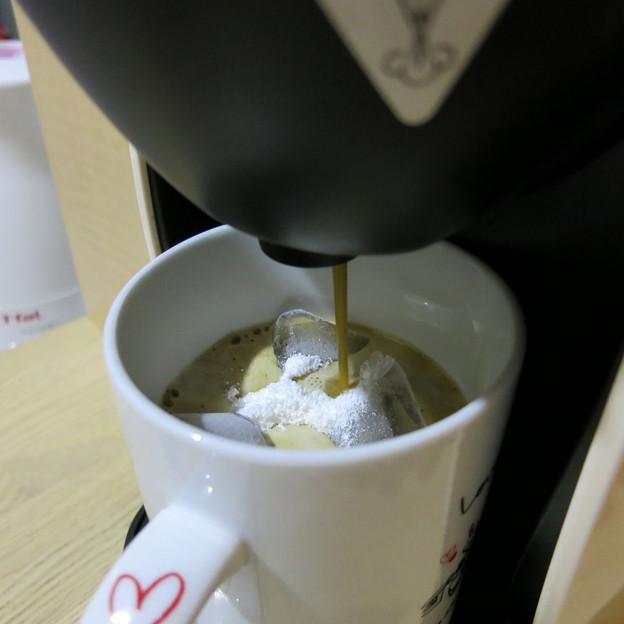バリスタで簡単アイスコーヒー