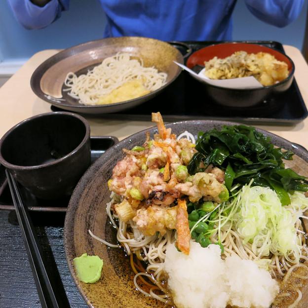 ゆで太郎で夕食