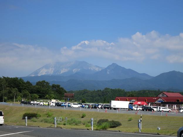 蒜山高原PAからの大山