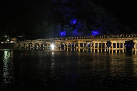 花灯路・渡月橋 (1)