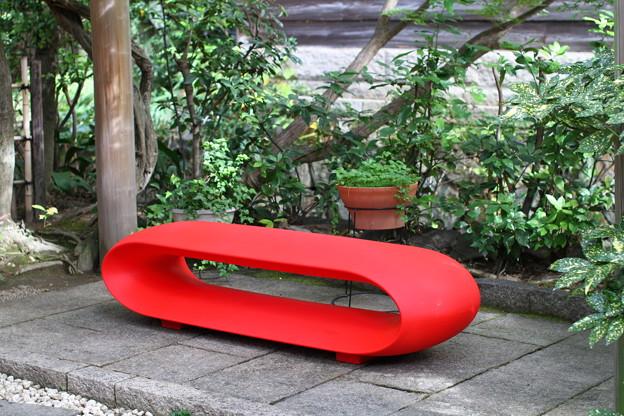 写真: アートなベンチ