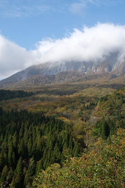 鳥取大山の紅葉