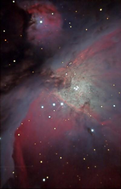 写真: M42中心部