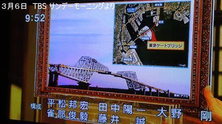 サンデーモーニング 東京ゲートブリッジ_R