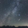 写真: [2016年08月13日]ペルセウス座流星群(蝶ヶ岳より)