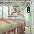 利根川橋梁に向う安中貨物EH500-18+トキ25000