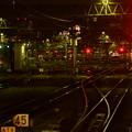 夜の駅構内
