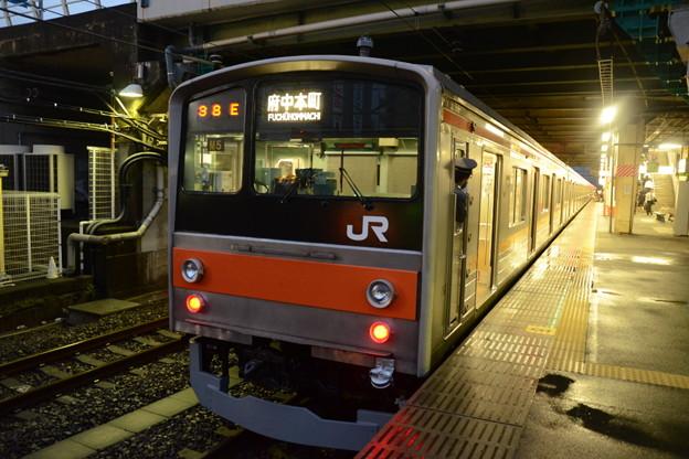 武蔵野線205系 終点府中本町