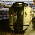 N'EX47号新宿発車、よし!