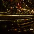 浜松駅深夜の賑わい こだま687号、こだま692号、983M、670M、672M停車中