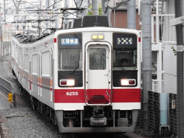 東武6050系区間快速曳舟通過!