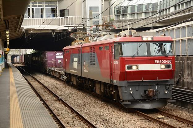 写真: 金太郎56号機牽引高速貨物3064レ府中本町通過