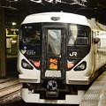 写真: あずさ17号立川発車