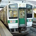 719系H-16編成会津若松2番入線