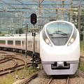 Photos: E657系K14編成特急ときわ53号友部2番入線