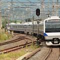 E531系K407編成337M友部2番入線