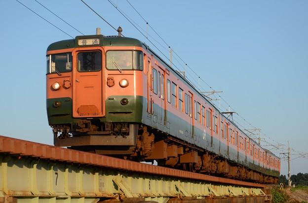 115系高タカT1091編成468M高崎行き