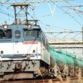 EF65 2080牽引石油返空8584レ宇都宮貨物(タ)発車
