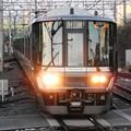 223系快速姫路行き新大阪16番入線