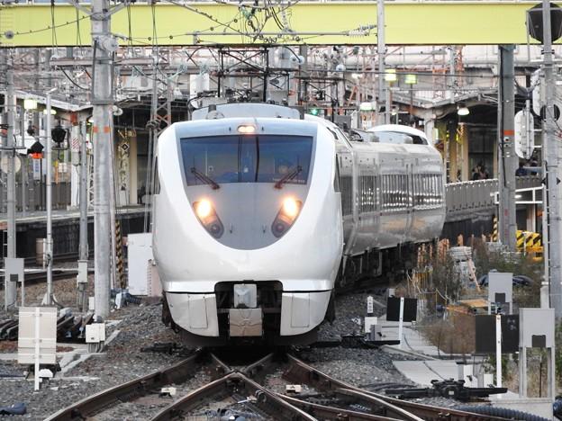 287系特急こうのとり17号新大阪18番入線
