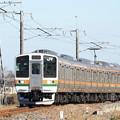 両毛線211系442M高崎行き