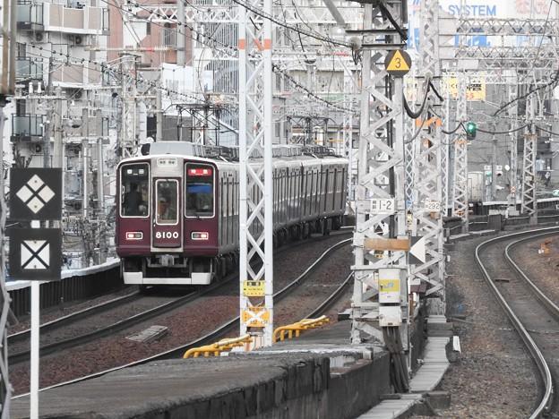 阪急8000系特急梅田行き