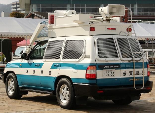 滋賀県警 機動隊 現場指揮官車(後部)