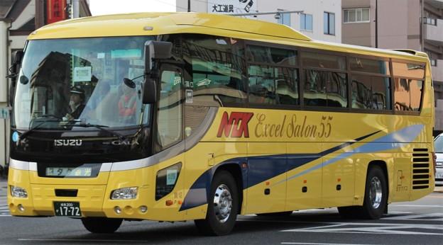 日本タクシー エクセルサルーン55(ハイデッカー)