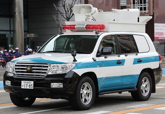 愛知県警 機動隊 現場指揮官車