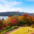 Photos: 山のホテル庭園の紅葉
