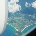 Photos: 機内から見た風景@沖縄