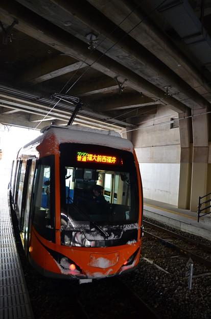 福大前西福井駅構内(3)
