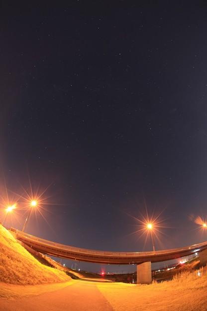 写真: 流れ星を撮る