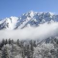 100317-25雪山・西穂高岳方面