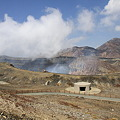 Photos: 100512-74九州ロングツーリング・阿蘇中岳噴火口3