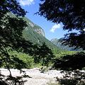 写真: 100721-45蝶ヶ岳登山・見えてきた屏風岩