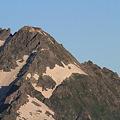 100722-30蝶ヶ岳登山・穂高連峰と槍ヶ岳(18/30)・北穂高岳