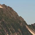写真: 100722-31蝶ヶ岳登山・穂高連峰と槍ヶ岳(19/30)