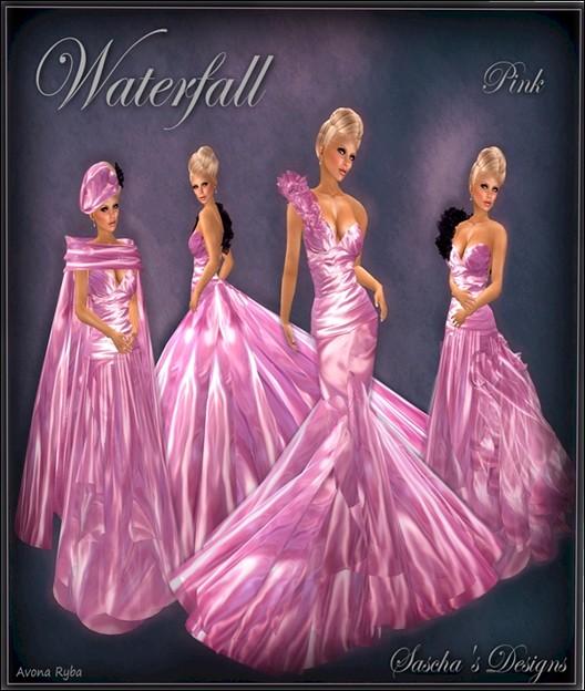 SAS - Waterfall Pink