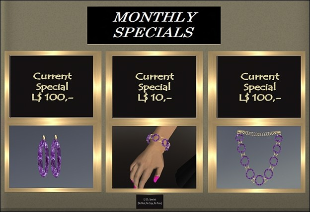 ~K&S~ Jewelry - Monthly Specials in April 2010