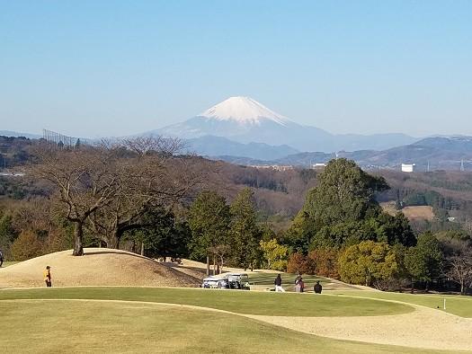 写真: 富士山(レイクウッドゴルフクラブ)